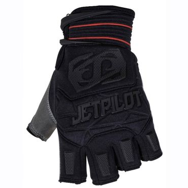 Jetpilot Matrix Race Glove Short Finger Gloves Black / Red Jetski Handschuhe