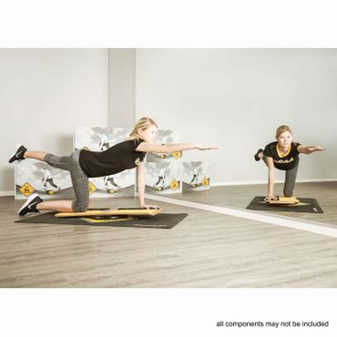 RollerBone Fitbone Pro Set + Softpad + Carpet – Bild 5