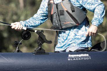 Aquaglide Kajak Blackfoot One Angler SL HB – Bild 7