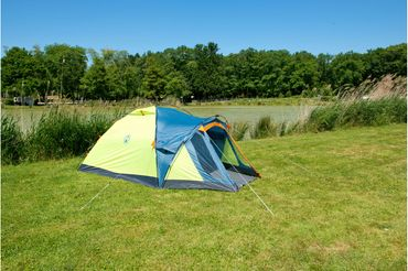 Coleman Tent 'Drake' - 2 Persons light green – Bild 3
