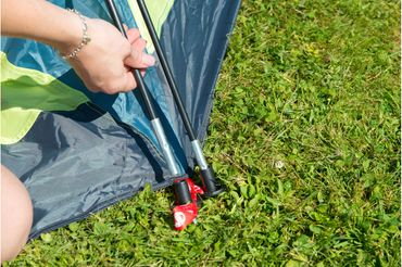 Coleman Tent 'Drake' - 2 Persons light green – Bild 5