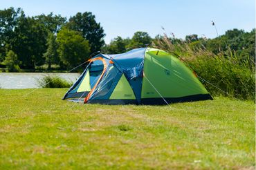 Coleman Tent 'Drake 4' - 4 Persons light green – Bild 3
