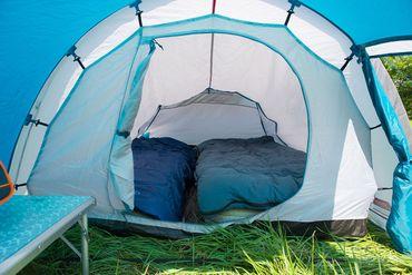 Coleman Tent 'Cortes' - 3 Persons blue  – Bild 3