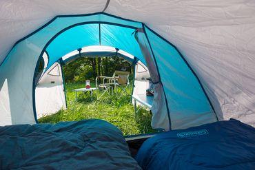 Coleman Tent 'Cortes' - 3 Persons blue  – Bild 4