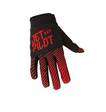 Jetpilot Matrix Pro Super Lite Glove Full Finger Gloves Black / Red Jetski Handschuhe – Bild 2