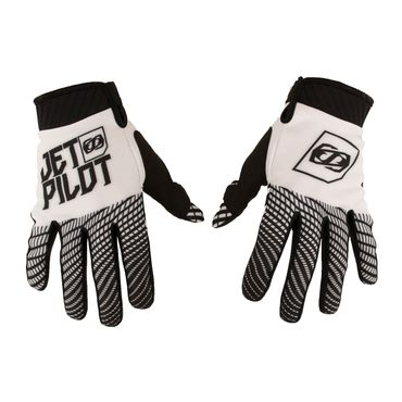 Jetpilot Matrix Pro Super Lite Glove Full Finger Gloves Black / White Jetski Handschuhe – Bild 1