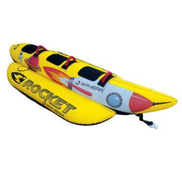 Spinera Rocket 3 Towable Tube Banana Watersled for 3 Persons – Bild 6