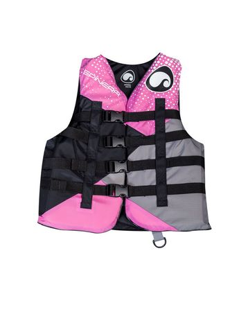 SPINERA Deluxe 4 Buckle Nylon Vest Woman Pink – Bild 2