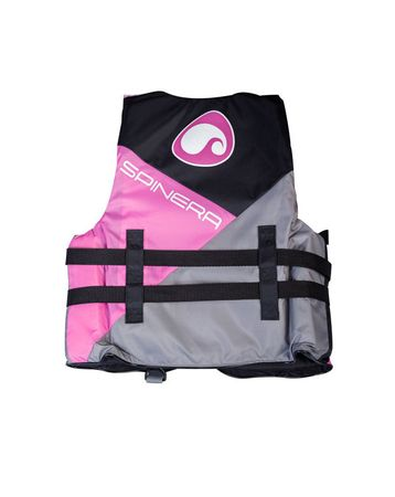 SPINERA Deluxe 4 Buckle Nylon Vest Woman Pink – Bild 3