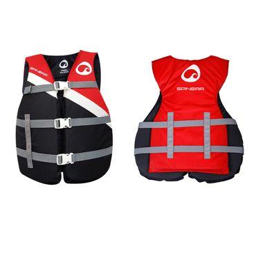 SPINERA Universal Nylon Vest Red Schwimmweste Wasserskiweste rot 50N – Bild 3