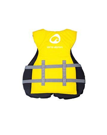 SPINERA Universal Nylon Vest Yellow Schwimmweste Wasserskiweste Gelb 50N – Bild 2