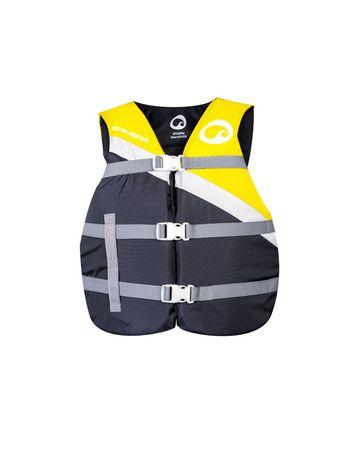 SPINERA Universal Nylon Vest Yellow Schwimmweste Wasserskiweste Gelb 50N – Bild 1