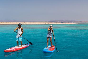 SHARK SUP 10′6 / 32'' / 5'' Lemon Shark Ride – Allround Inflatable Stand Up Paddle Board Komplettset – Bild 24