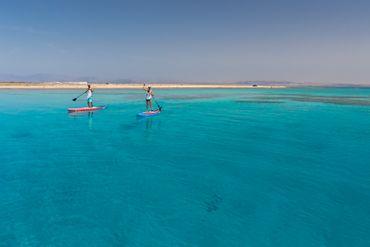 SHARK SUP 10′6 / 32'' / 5'' Lemon Shark Ride – Allround Inflatable Stand Up Paddle Board Komplettset – Bild 22