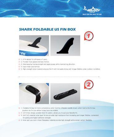 SHARK SUP 11'8 Touring Traveler 11'8'' x 30'' x 6'' Stand Up Paddle Board STW-360 – Bild 2