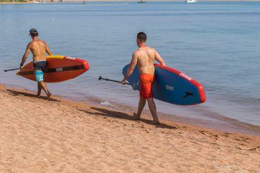 SHARK SUP 11'8 Touring Traveler 11'8'' x 30'' x 6'' Stand Up Paddle Board STW-360 – Bild 11