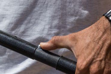 SHARK SUP Carbon Shaft Paddle - 3-teiliges Karbonschaft Paddel – Bild 3