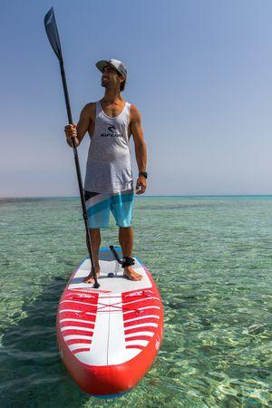 SHARK SUP's Carbon Fiber Shaft Paddle – Bild 7