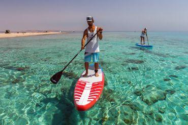 SHARK SUP's Carbon Fiber Shaft Paddle – Bild 8