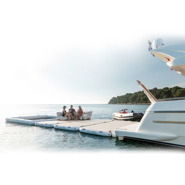 Yachtbeach Platform 4.1 x 2.05m, Champagne gloss – Bild 3