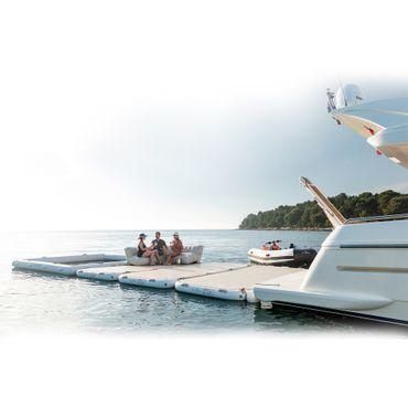 Yachtbeach Platform 4.1 x 2.05m, Pearl White – Bild 5