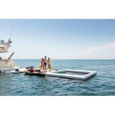 Yachtbeach Luxury Pool 4x4m w. 30cm Tube – Bild 9