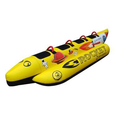 Spinera Rocket 4 Towable Tube Banana Watersled for 4 Persons – Bild 1