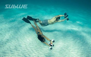 Sublue Whiteshark Mix Underwater Scooter – Bild 11