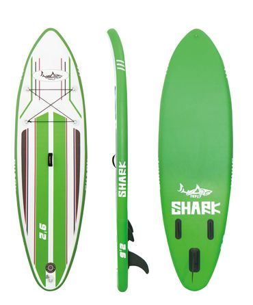 SHARK SUP 9'2 All Round Smurf Surf Paddle Board – Bild 1