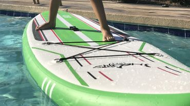 SHARK SUP 9'2 All Round Smurf Surf Paddle Board – Bild 7