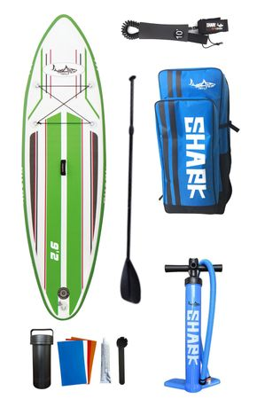 SHARK SUP 9'2 All Round Smurf Surf Paddle Board 9'2'' x 30'' x 4'' SAS-280 – Bild 10