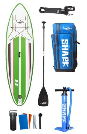 SHARK SUP 9'2 All Round Smurf Surf Paddle Board 9'2'' x 30'' x 4'' SAS-280 – Bild 11