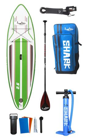SHARK SUP 9'2 All Round Smurf Surf Paddle Board 9'2'' x 30'' x 4'' SAS-280 – Bild 12