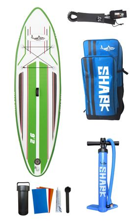 SHARK SUP 9'2 All Round Smurf Surf Paddle Board 9'2'' x 30'' x 4'' SAS-280 – Bild 9