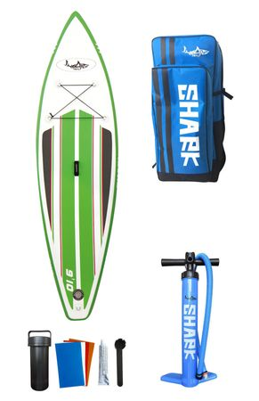 SHARK SUP 9'10'' Mako Shark Wave Rider Surf Paddle Board 9'10'' x 32'' x 4'' – Bild 15