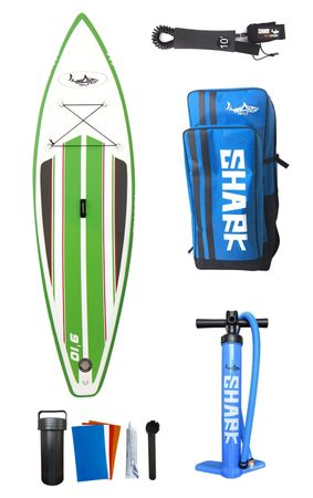 SHARK SUP 9'10'' Mako Shark Wave Rider Surf Paddle Board 9'10'' x 32'' x 4'' – Bild 16