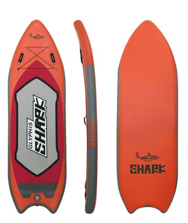 "SHARK SUP 9′4"" Glyphis Shark River Inflatable Paddle Board Package – Bild 2"