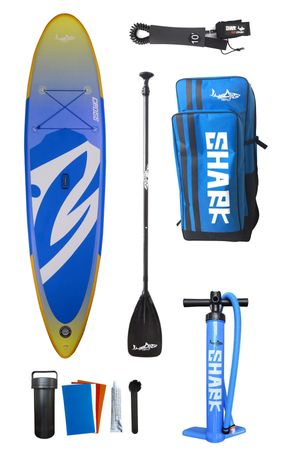 SHARK SUPs 10'6'' Allround Cross - Inflatable Stand Up Paddle Board Package Deal – Bild 1