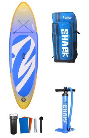 SHARK SUP 9'2 All Round Surf - All Round Inflatable Paddle Board Package – Bild 2