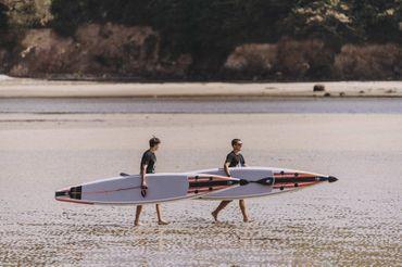 SHARK SUPs 12'6'' Race – Inflatable Stand Up Paddle Board Komplettset – Bild 5