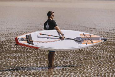 SHARK SUPs 14' 25'' Race – Inflatable Stand Up Paddle Board Komplettset – Bild 7