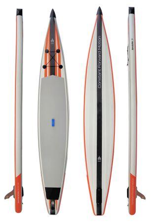 SHARK SUPs 14' 27'' Race – Inflatable Stand Up Paddle Board Komplettset – Bild 1