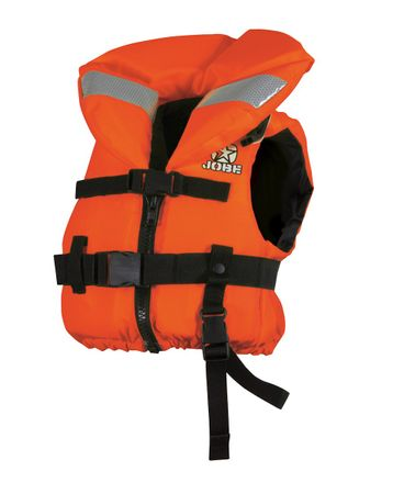 Jobe Comfort Boating Vest Youth Kinder Rettungsweste orange – Bild 2