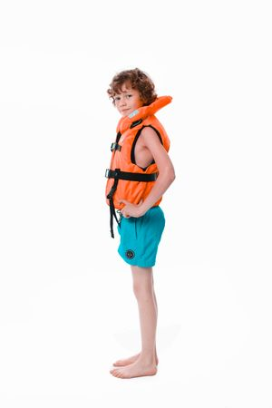 Jobe Comfort Boating Vest Youth ohnmachtsichere Kinder Rettungsweste orange – Bild 7