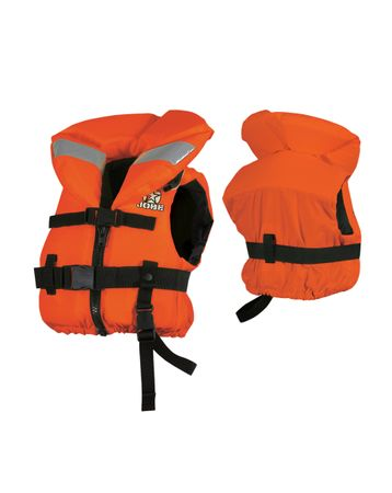 Jobe Comfort Boating Vest Youth ohnmachtsichere Kinder Rettungsweste orange – Bild 1