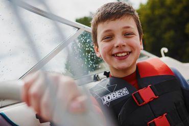 Jobe Nylon Vest Youth Red Schwimmweste Wasserskiweste Kinder Rot – Bild 6