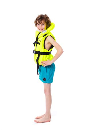 Jobe Comfort Boating Vest Youth Yellow – Bild 6