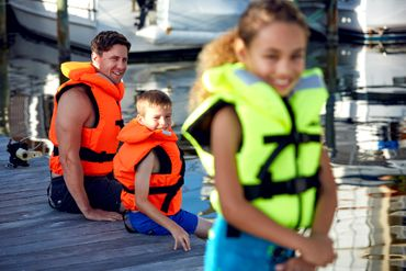 Jobe Comfort Boating Vest Youth Orange – Bild 11