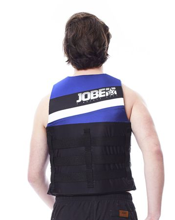 Jobe 4 Buckle Vest Blue Schwimmweste Wasserskiweste blau Unisex – Bild 2