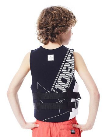 Jobe Neopren Vest Youth Black Kinder Neoprenweste – Bild 2